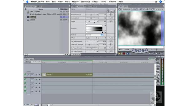 Improved speed changes: Final Cut Pro 6 New Features