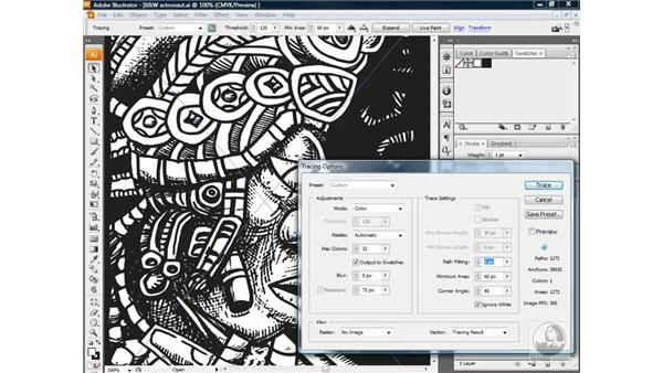 Tracing full-color artwork: Illustrator CS3 One-on-One: Advanced Techniques