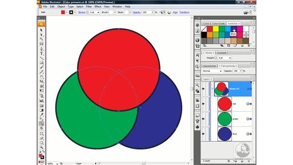 Creating interactions with Live Paint: Illustrator CS3 One-on-One: Advanced Techniques