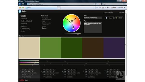 Introducing Adobe Kuler: Illustrator CS3 One-on-One: Advanced Techniques
