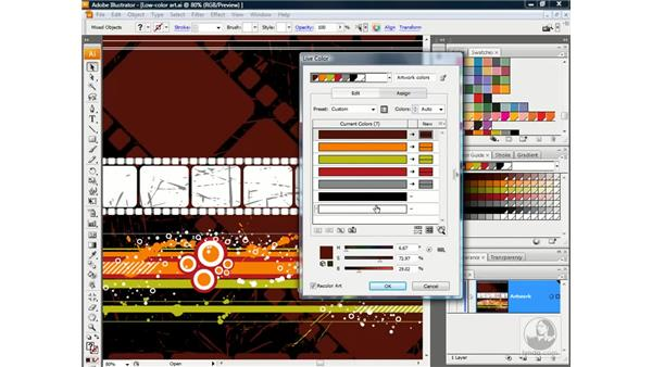 Distilling the perfect two-color print job: Illustrator CS3 One-on-One: Advanced Techniques
