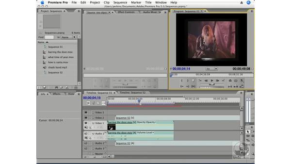 Navigating the timeline: Premiere Pro CS3 Essential Training