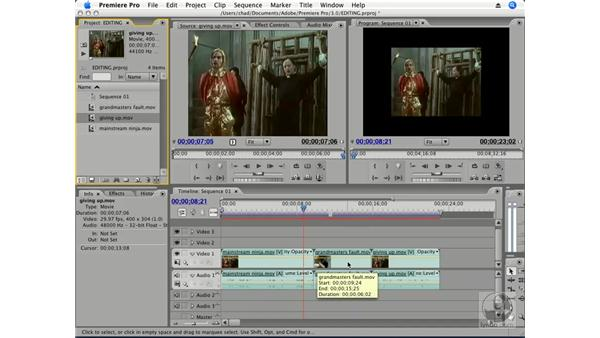 Ripple Edit and Ripple Delete: Premiere Pro CS3 Essential Training