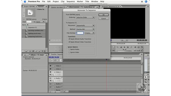 Rolling Edit: Premiere Pro CS3 Essential Training