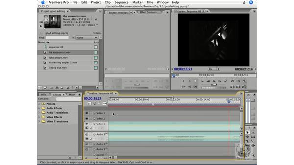 Making good movies: Premiere Pro CS3 Essential Training