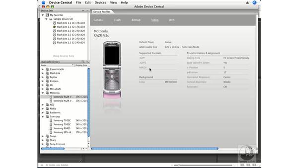 Adobe Device Central CS3: Premiere Pro CS3 Essential Training