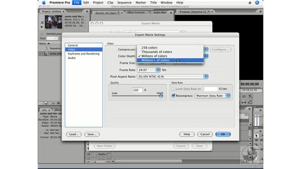 Essential codecs: Premiere Pro CS3 Essential Training