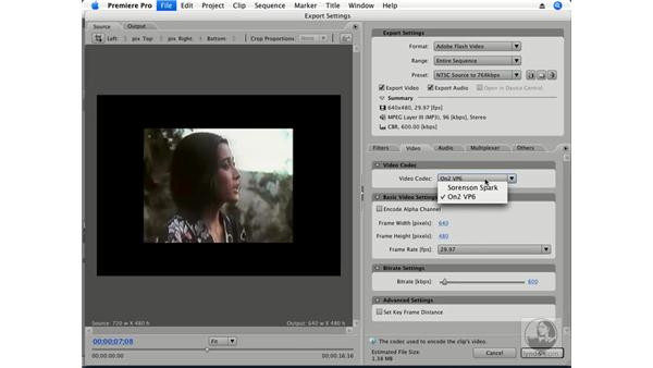 Exporting to FLV: Premiere Pro CS3 Essential Training