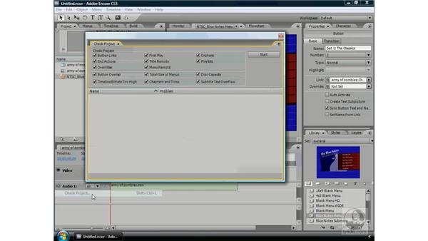 Overview of the Encore workflow: Encore CS3 Essential Training