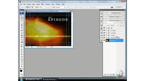 Understanding menus: Encore CS3 Essential Training