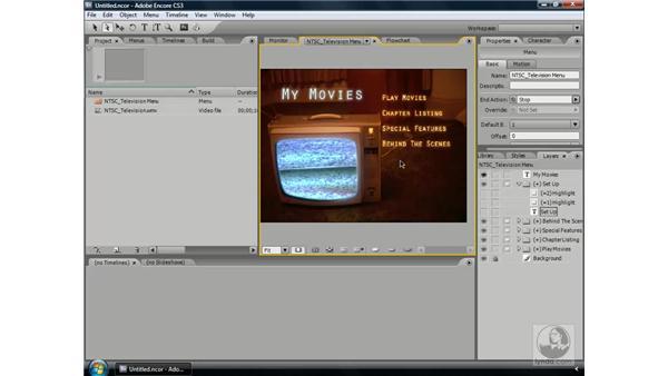 Creating DVD : Encore CS3 Essential Training