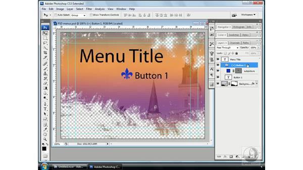 Photoshop's secret Encore DVD codes: Encore CS3 Essential Training