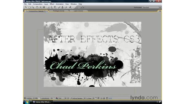 Introduction: After Effects CS3 Professional Essential Training