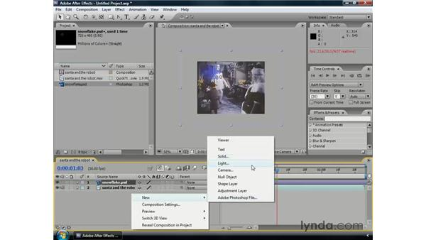 Layers essentials: After Effects CS3 Professional Essential Training