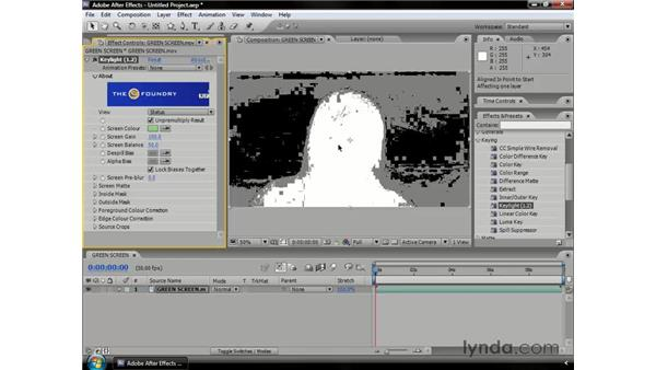 Introduction to Keylight: After Effects CS3 Professional Essential Training