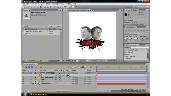 About 3D layers: After Effects CS3 Professional Essential Training