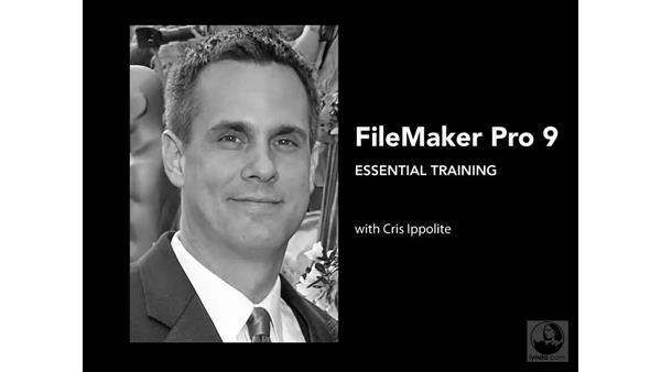 Welcome: FileMaker Pro 9 Essential Training
