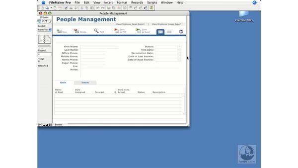 How FileMaker works: FileMaker Pro 9 Essential Training