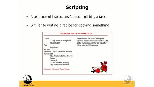 Understanding scripts: FileMaker Pro 9 Essential Training
