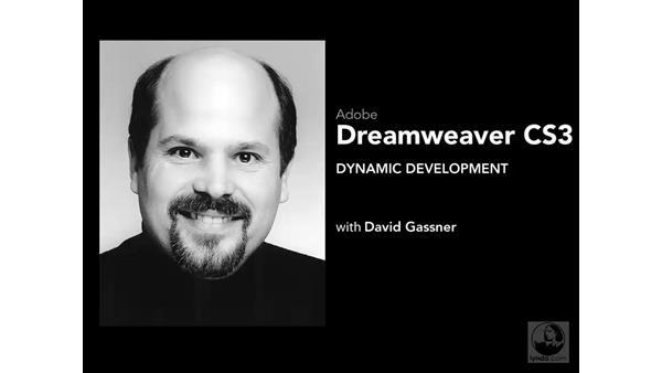 Welcome: Dreamweaver CS3 Dynamic Development