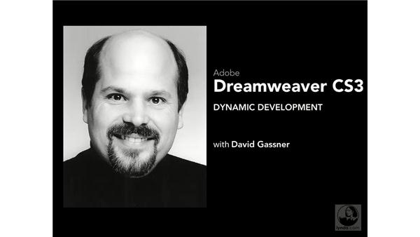 Goodbye: Dreamweaver CS3 Dynamic Development