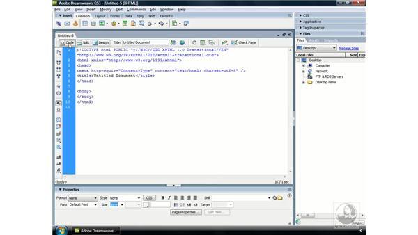 Exploring Dreamweaver CS3: ColdFusion 8 Essential Training