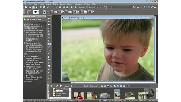 Cloning: Getting Started with Corel Paint Shop Pro Photo X2