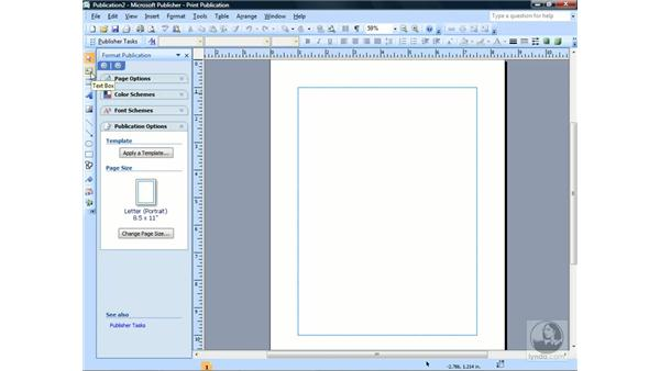 Using the Objects toolbar: Publisher 2007 Essential Training