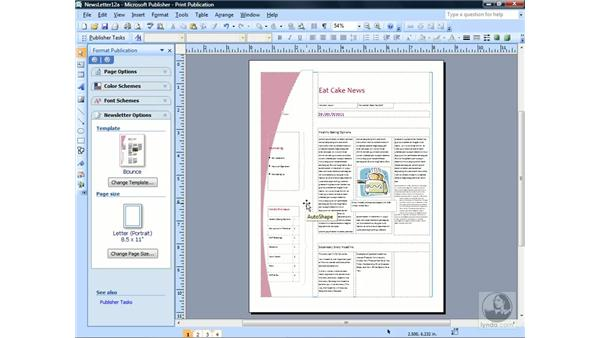 Using a commercial printer: Publisher 2007 Essential Training