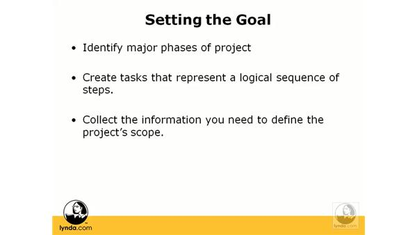 Project management basics: Project 2007 Essential Training