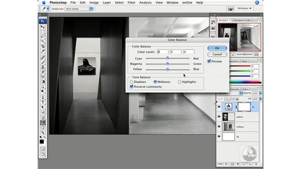 Color correction and multiple images: Photoshop CS3 Creative Photographic Techniques