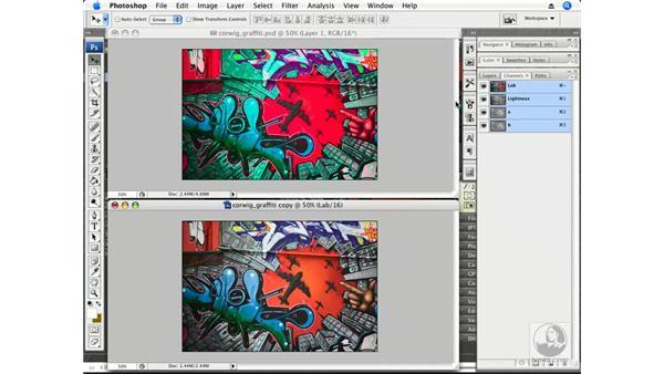 Creative color with Lab: Photoshop CS3 Creative Photographic Techniques