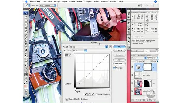 Color correcting and RGB values: Photoshop CS3 Creative Photographic Techniques