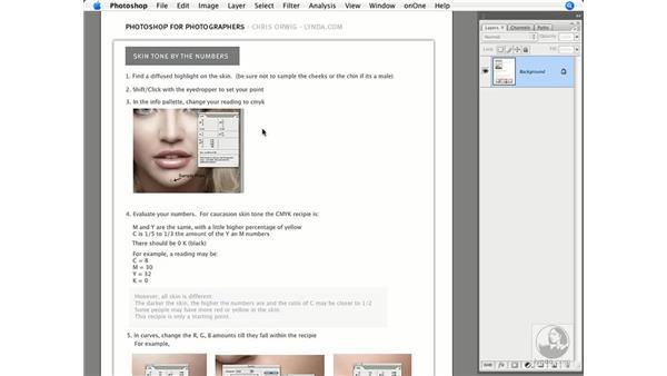 Introduction to skin tone color correction: Photoshop CS3 Creative Photographic Techniques