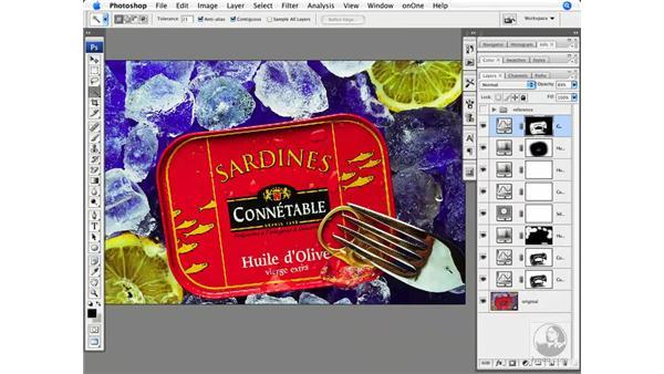 Studio color correction - Finishing details: Photoshop CS3 Creative Photographic Techniques