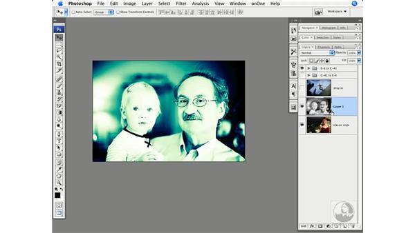 Cross-processing demo: Photoshop CS3 Creative Photographic Techniques