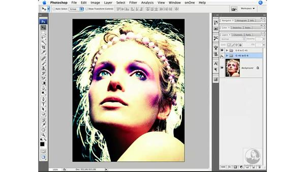 Applying cross-processing Curves to multiple images: Photoshop CS3 Creative Photographic Techniques