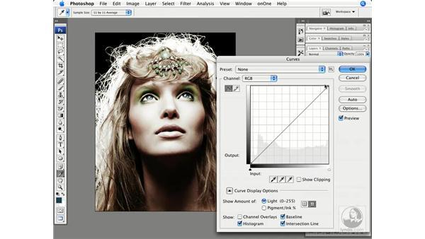 High-fashion muted tone: Photoshop CS3 Creative Photographic Techniques