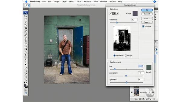 Back alley edge: Photoshop CS3 Creative Photographic Techniques