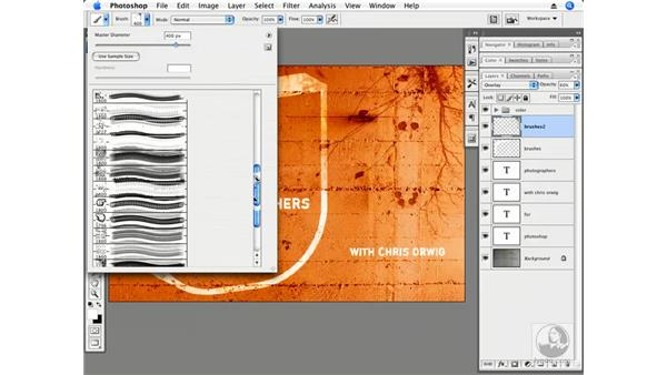 Cool custom brushes: Photoshop CS3 Creative Photographic Techniques