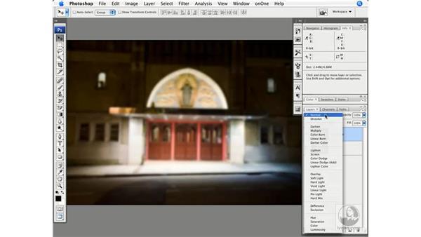 Diffuse printing effect - English theatre: Photoshop CS3 Creative Photographic Techniques