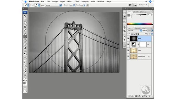 Illumination - San Francisco Bay Bridge: Photoshop CS3 Creative Photographic Techniques