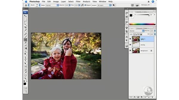 Panning motion blur: Photoshop CS3 Creative Photographic Techniques