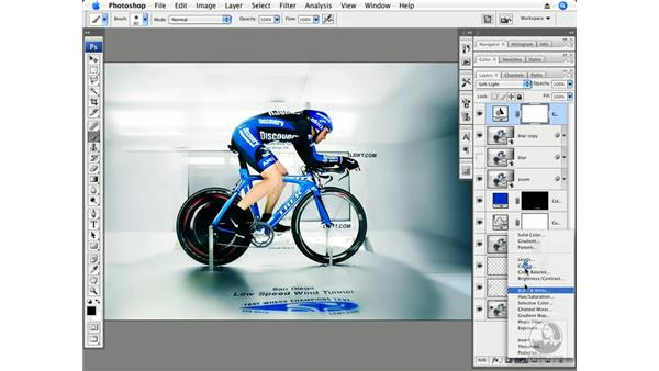 Speed part 4 - Final color and tone: Photoshop CS3 Creative Photographic Techniques