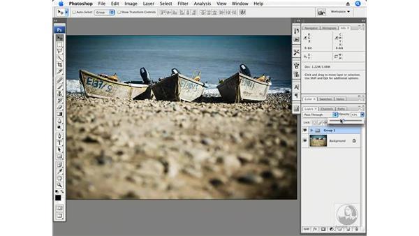 Creative perspective part 3 - Baja boats - color and tone: Photoshop CS3 Creative Photographic Techniques