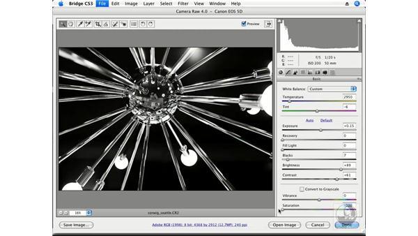 Creative perspective part 4 - Seattle - black and white: Photoshop CS3 Creative Photographic Techniques