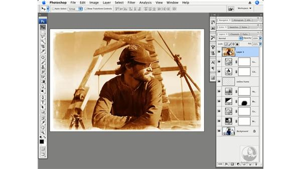 Adding depth: Photoshop CS3 Creative Photographic Techniques