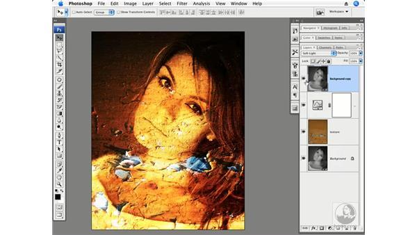 Filter, Textures, and Blend modes: Photoshop CS3 Creative Photographic Techniques