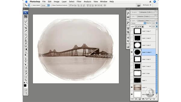 Sample frames: Photoshop CS3 Creative Photographic Techniques