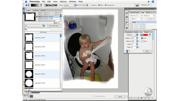 PhotoFrame plug-in part 2 - Details: Photoshop CS3 Creative Photographic Techniques